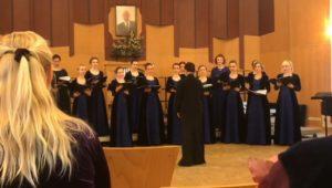«Нега» на фестивале «Студенческая хоровая весна»