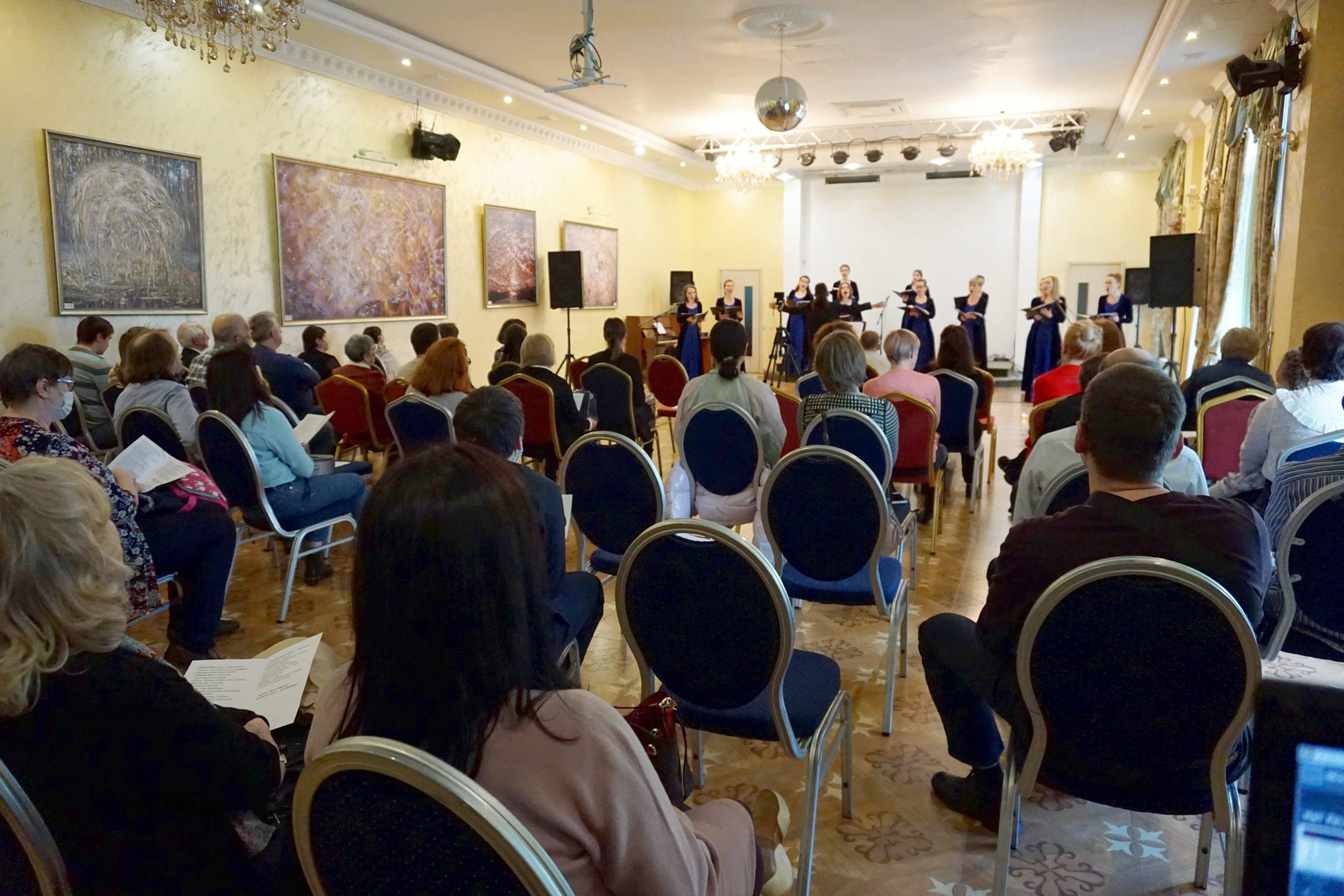 Read more about the article Сольный концерт ансамбля «Нега»